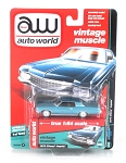 Vintage Muscle: 1970 Chevy Impala (Blue) 1/64 Scale
