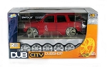 DUB City: 2002 Cadillac Escalade SUV DUBSHOP 1/18 Scale. Easy to assemble!