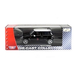Motor Max: Mini Cooper R50 (Black) 1/18 Scale