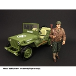 American Diorama: WWII USA Soldier I 1/18 Scale