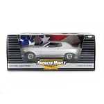 ERTL Collectibles: 1976 Ford Gran Torino 1/18 Scale. Chrome Chase Car!