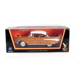 Road Legends: 1957 Chevy Bel Air with White Top 1/18 Scale