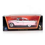 Road Legends: 1955 Ford Crown Victoria (Pink) 1/18 Scale