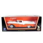 Road Legends: 1957 Ford Ranchero (Orange/White) 1/18 Scale