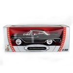 Road Legends: 1961 DeSoto Adventurer (Black) 1/18 Scale