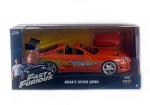 Fast & Furious: Brian's Toyota Supra (Orange) 1/24 Scale