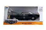 Bigtime Muscle Series: 1967 Chevy Camaro (Matte Black) 1/24 Scale