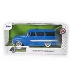 Jada Just Trucks Series: 1957 Chevy Suburban (Blue) 1/24 Scale