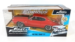 Fast & Furious: Dom's Chevy Chevelle SS (Red) 1/24 Scale