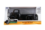 Just Trucks Series: 1952 Chevy COE Pickup (Black with Black Trims) 1/24 Scale