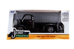 Just Trucks Series: 1952 Chevy COE Pickup (Black with Chrome Trims) 1/24 Scale