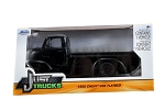 Just Trucks Series: 1952 Chevy COE Flatbed (Black with Black Trims) 1/24 Scale