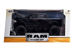 Just Trucks Series: 2014 Ram 1500 Off Road (Black with Grey Stripes) 1/24 Scale