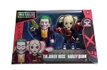 "4"" METALS Suicide Squad Twin Pack: Joker Boss & Harley Queen"