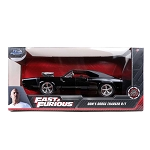 Jada The Fast & The Furious: Dom's Dodge Charger R/T (Black) 1/24 Scale
