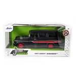 Jada Just Trucks Series: 1957 Chevy Suburban (Matte Black) 1/24 Scale