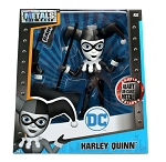 "6"" METALS DC Girls: Black and White Harley Quinn with Hammer and Gun (M381)"