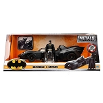 Jada Hollywood Rides: 1989 Batmobile & Batman Figure 1/24 Scale