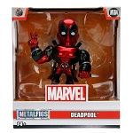 "4"" METALFIGS Marvel: Deadpool Candy Red (M184)"