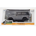 Just Trucks Series: 1973 Ford Bronco (Grey) 1/24 Scale
