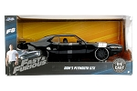 Fast & Furious 8: Dom's Plymouth GTX 1:24 Scale