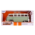 Jada Bigtime Kustoms: 1962 Volkswagen Bus (Green w/ White) 1/24 Scale
