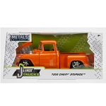 Jada Just Trucks Series: 1955 Chevy Stepside (Orange) 1/24 Scale