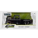 Jada Just Trucks Series: 1955 Chevy Stepside (Black) 1/24 Scale