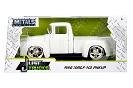 Just Trucks Series: 1956 Ford F-100 Pick Up (White) 1/24 Scale