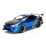 JDM TUNERS: 1995 Mitsubishi Eclipse (Blue) 1/24 Scale