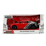JDM TUNERS: 1995 Mitsubishi Eclipse (Red) 1/24 Scale