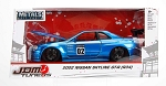 JDM TUNERS: 2002 Nissan GT-R (R34) #2 Blue 1/24 Scale