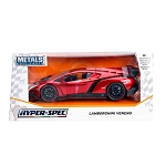 HyperSpec Series: Lamborghini Veneno (Candy Red) 1/24 Scale