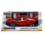 HyperSpec Series: 2017 Lamborghini Centenario (Red) 1/24 Scale