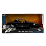 Fast & Furious: Dom's Buick Grand National (Black) 1/24 Scale