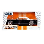 Bigtime Kustoms Series: 1963 Lincoln Continental (Silver w/ Black) 1/24 Scale