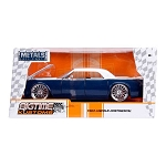 Bigtime Kustoms Series: 1963 Lincoln Continental (Blue/White) 1/24 Scale