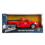 Fast & Furious: Brian's Ford F-150 SVT Lightning (Red) 1/24 Scale