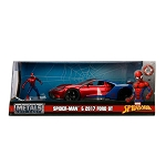 Jada Hollywood Rides: Marvel Avengers Spider-Man & 2017 Ford GT 1/24 Scale
