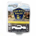 Greenlight County Roads: 1967 Chevy Impala Sport Sedan (White) 1/64 Scale