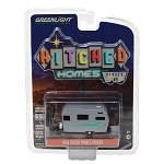 Greenlight Hitched Homes Series 2: 1958 Siesta Travel Trailer 1/64 Scale