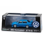 Greenlight Collectibles: 1995 Volkswagen Jetta A3 (Blue) 1/43 Scale