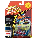 Johnny Lightning 50th: George Barris Ice Cream Truck Daisy Bell Custom Red Pearl 1/64 Scale