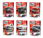Auto World Set of 6: Vintage Muscle Die-cast Model 1/64 Scale