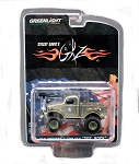 "Greenlight: Stacey David's ""SGT. Rock"" 1941 Military ½ ton 4X4 Truck in 1/64 scale"