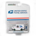 GREEN MACHINE! USPS Long-Life Postal Delivery Vehicle (LLV) with Mailbox 1/64 Scale
