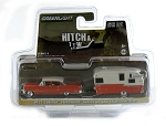 Hitch & Tow: 1955 Cadillac Fleetwood & Shasta 15' Airflyte 1/64 Scale