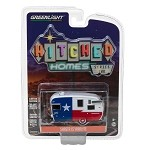 Greenlight Hitched Homes Series 2: Shasta 15' Airflyte (Red/White/Blue) 1/64 Scale