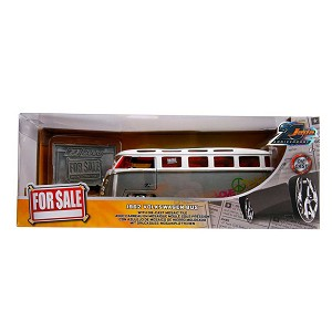 Jada 20th Anniv: For Sale 1962 Volkswagen Bus 1/24 Scale