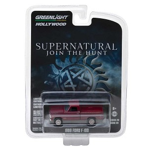 "Greenlight Hollywood Series: 1969 Ford F-100 ""Supernatural"" 1/64 Scale"